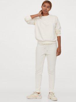 Спортивные штаны H&M 0803757-1 Молочные