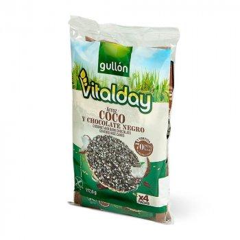 Хлебцы без глютена рисовые с шоколадом и кокосом Vitalday Gullon 117.6г (4х29.4г)