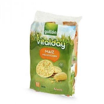 Хлебцы без глютена с кукурузой Vitalday Gullon 108.8г (4х27.2г)