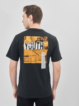 Футболка Converse Youth Now Ss Tee 10019928-001 Black