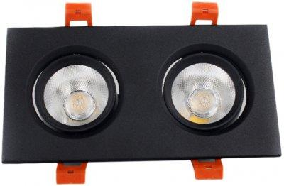 Світильник точковий Electro House 5 W 4100 K чорний (EH-CLM-04)