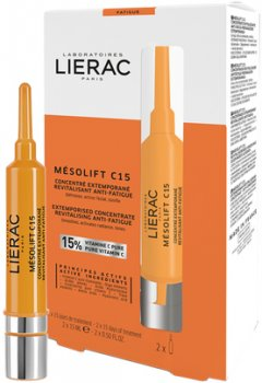 Концентрат Lierac Мезолифт С15 2х15 мл (3508240009021)
