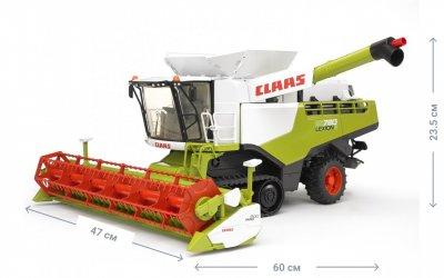 Игрушка - комбайн Bruder Claas Lexion 780 Terra Trac Combine harvester (02119)