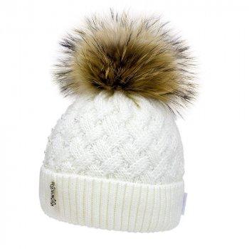 Зимняя шапка David's Star 21434 52 Молочная (ROZ6400027297)