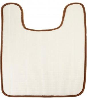 Килимок для ванної кімнати Supretto 42х60 см Коричневий (5890-0001)