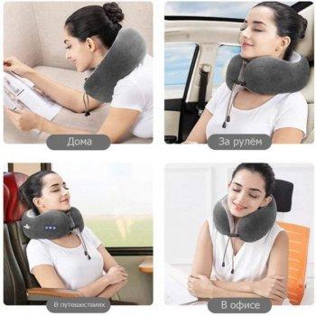 Массажер электрический для шеи U-Shaped Massage Pillow SHAKE WM-003