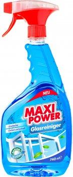 Упаковка засобів для миття скла Maxi Power 740 мл х 2 шт. (4823098410782/2000064265900)