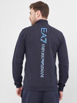 Толстовка Emporio Armani 10449 Темно-синя