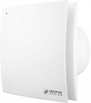 Вытяжной вентилятор SOLER&PALAU Decor-200 CRZ Design
