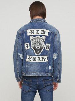Куртка джинсова H&M 0572508 Синя