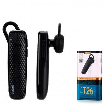 Bluetooth гарнитура Remax RB-T26 черная