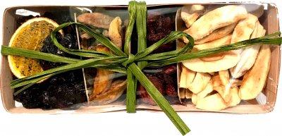 Набір сухофруктів Spektrumix Чорнослив, персик, яблуко, полуниця 430 г (2054860014743)
