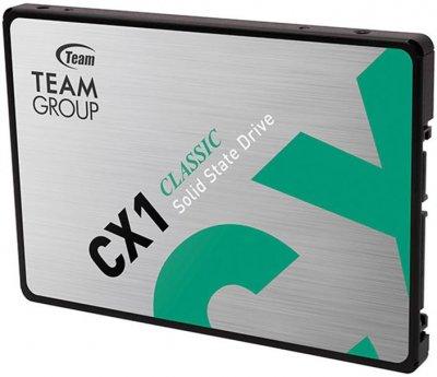 """Team CX1 240GB 2.5"""" SATAIII 3D NAND TLC (T253X5240G0C101)"""