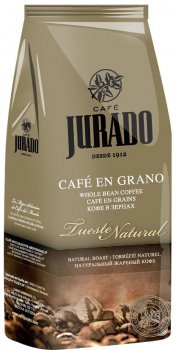 Кофе в зернах Jurado Natural 1 кг (8410894003032)