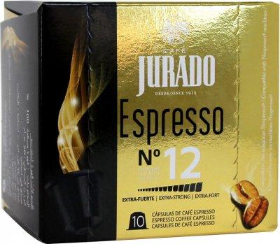 Кофе в капсулах Jurado Espresso для системы Nespresso 5 г х 10 шт (8410894004558)