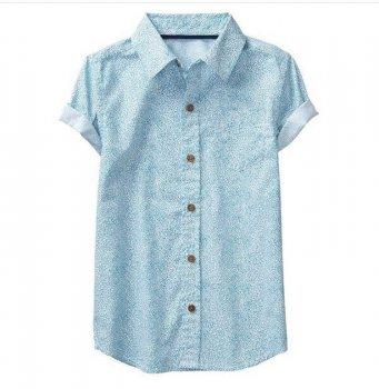 Сорочка Crazy8 для хлопчика з коротким рукавом