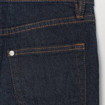 Джинсы H&M 556560 Темно-синие