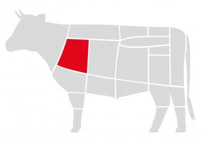 Лопатка говяжья Мястория Абердин выдержанная охлажденная 300 г