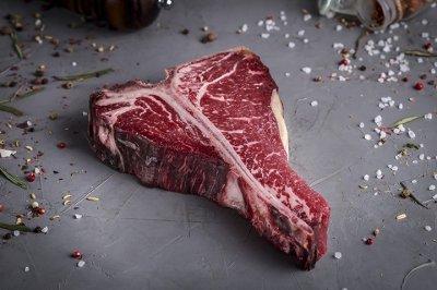 Стейк Тибоун Dry-aged beef Мястория 650 г