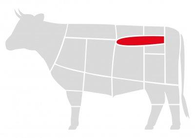 Лангет из говядины Мястория выдержанный 250 г