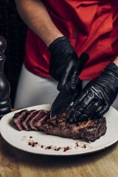Стейк Рибай Dry-aged beef Мястория 350 г