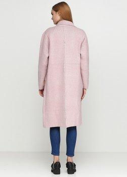 Пальто Dins Tricot 60-800314 рожевий