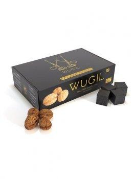 Уголь для кальяна из скорлупы грецкого ореха Wugil gold