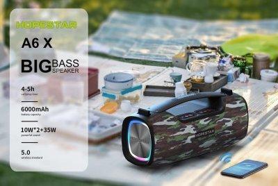 Колонка Bluetooth HOPESTAR A6 X camo
