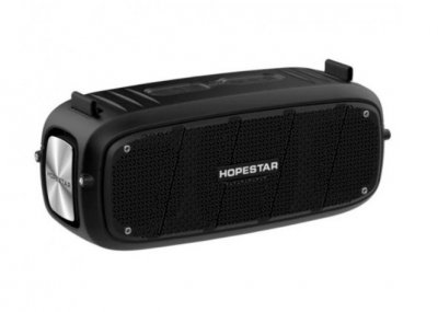 Портативна колонка Bluetooth Hopestar A20 Black