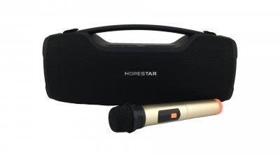 Портативна колонка HOPESTAR A6 PRO+мікрофон+Equalizer black