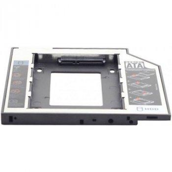 Адаптер HDD M.2 для ноутбука в отсек CD-ROM Gembird A-SATA95M2-01 б/у