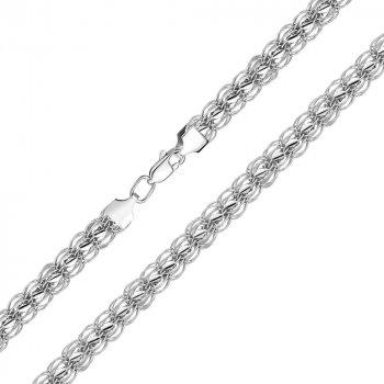 Серебряный браслет 000125233 21.5 размера