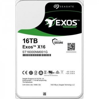 "Жорстку диск Seagate Exos HDD X18 16 TB ST16000NM001J 7200rpm 256MB 3.5"" SATAIII"