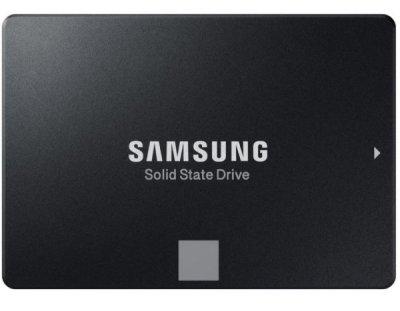 "Твердотільний диск 2.5"" 250GB Samsung 860 EVO series V-NAND MLC, SATA 3, Read/Write 550/520 МБ/sec (MZ-76E250BW)"