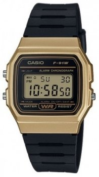 Чоловічі наручні годинники Casio F-91WM-9AEF