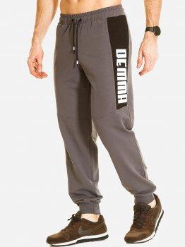 Спортивные брюки DEMMA 801 Серый фуме