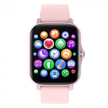 Смарт годинник Розумні годинник Smart Slassic Nova Pro Жіночі Тонометр Лічильник калорій Скидання дзвінка Pink