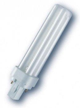 Лампа люмінесцентна Osram DULUX D 26W/830 G24d-2 (4050300025711)