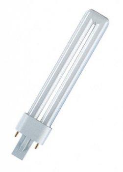 Лампа люмінесцентна Osram DULUX S 11W/840 G23 (4050300010618)