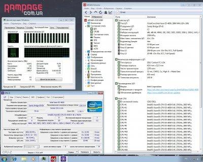 Процесор Intel Xeon E5 - 4650 / 2.7GHz / 20MB