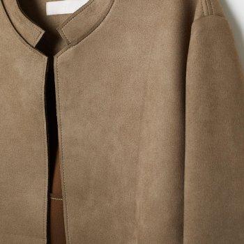 Пальто H&M 6841059-ACWO Светло-зеленое