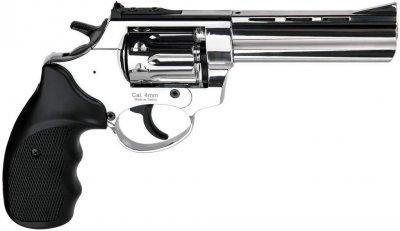 """Револьвер під патрон Флобера Ekol Viper 4,5"""" хром (chrome)"""