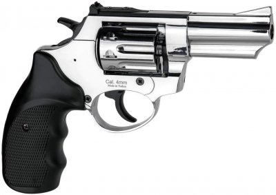 """Револьвер під патрон Флобера Ekol Viper 3"""" хром (chrome)"""
