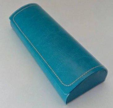 Твердый голубой футляр для очков Cintura 00448 blu