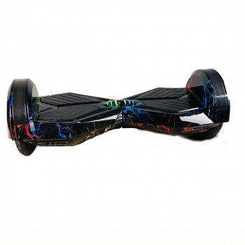 """Гироборд TaoTao Smart Balance Wheel 8"""" (цветные молнии) + Сумка в подарок NEW 2021 гироскутер (GRS- 11364)"""