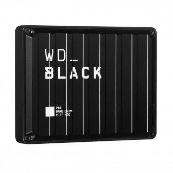 """Зовнішній жорстку диск 4TB 2,5"""" Western Digital BLACK P10 Game Drive USB 3.1"""