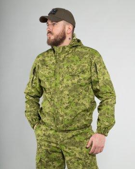 Костюм Горка тактический FCTdesign камуфляжный рип-стоп 52-54 жаба