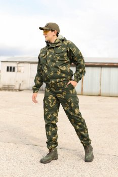 Костюм Горка тактический FCTdesign камуфляжный грета 60-62 осенний лист