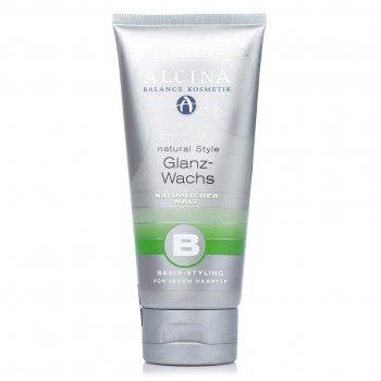Віск - блиск Alcina Balance Glanz - Wachs для волосся природного фіксації 100 мл