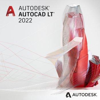 Autodesk AutoCAD LT 2022 Commercial New Single-user ELD Annual Subscription (электронная лицензия) (057N1-WW6525-L347)